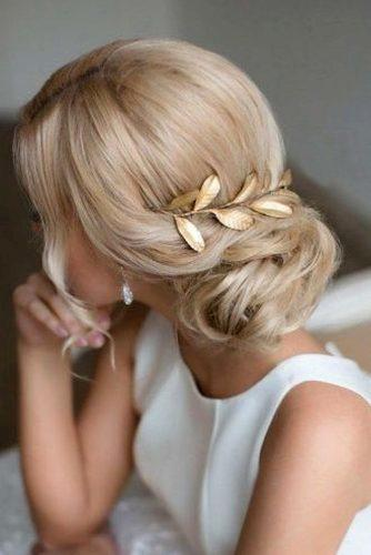 mother of the bride hairstyles low bun on blonde wedding hair elstile via instagram