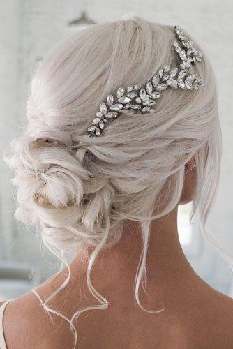 mother of the bride hairstyles on white medium hair modern updo with silver pin hairandmakeupbysteph