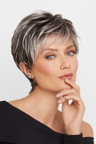 mother of the bride hairstyles short textured haircut hswwigs