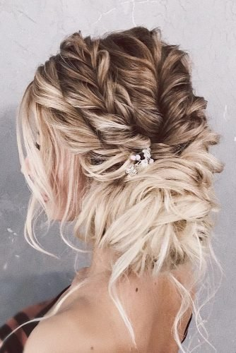 mother of the bride hairstyles side low updo ombre textured with crystal pin belaya_lyudmila