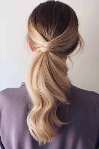 mother of the bride hairstyles smooth long hair wavy swept bel_pipsqueekinsaigon