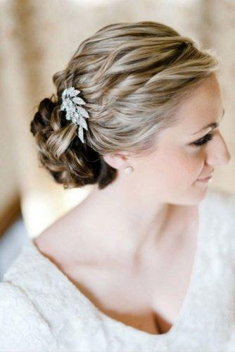 mother of the bride hairstyles twisted curly lov bun erich mcvey