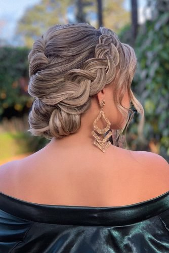 mother of the bride hairstyles updo with braids on white medium hair michellmarcalhair