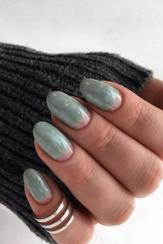 nail ideas aqua blue marble nails deni_sova_nails