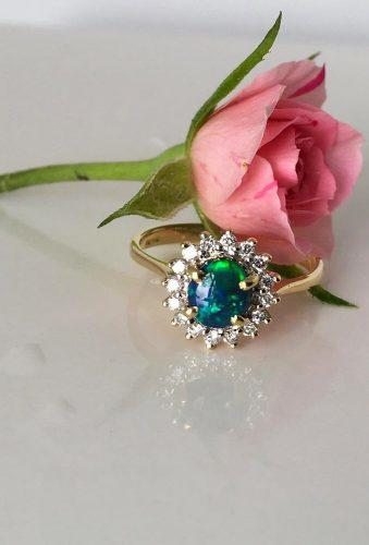 opal engagement rings dark opal ring theopalcutter