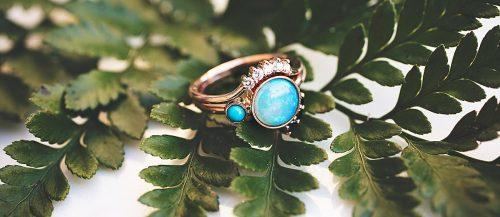 opal engagement rings gold unique featured