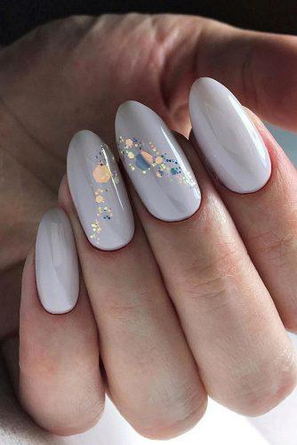 pinterest nails pink pastel blue with sparkling details in form of honeycomb deni_sova_nails