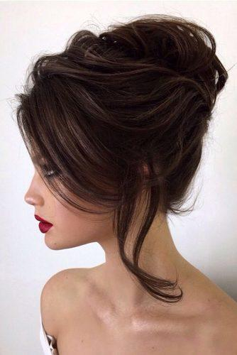 pinterest wedding hairstyles volume high french twist elstilespb via instagram