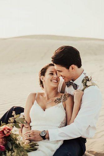 romantic wedding cuople on the sand tessatadlock