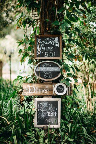 rustic wedding reception wedding destination signs rad red creative