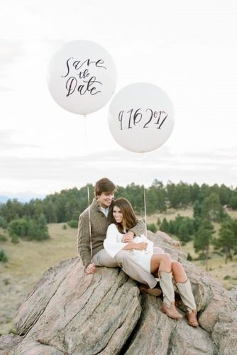 save the date photo ideas ballons outdoor rachel havel photography