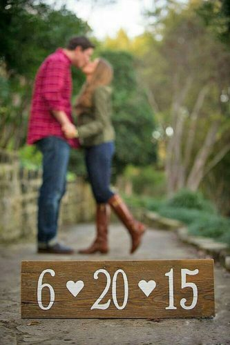 save the date photo ideas wooden ajh photography