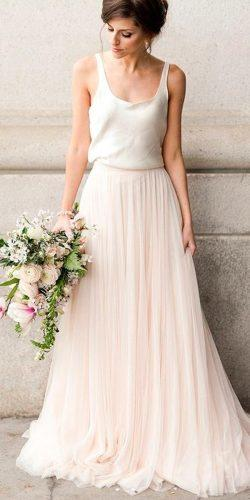 separate blush skirt with straps top long gathered skirt casual wedding dresses jensphotodiary