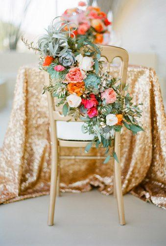 simply chic wedding flower decor ideas flower chair decor josevilla