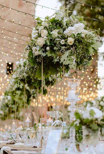 simply chic wedding flower decor ideas greenery flower decor sposarmi it