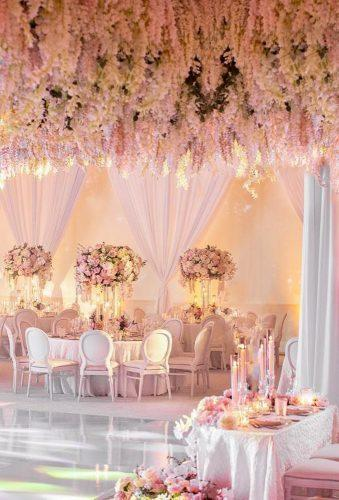 simply chic wedding flower decor ideas pink flower decor Katie Beverley