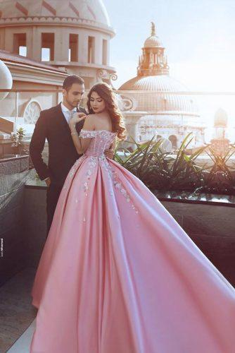 top wedding ideas part 3 rose wedding dress saidmhamadphotography