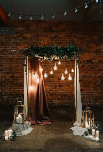 wedding backdrop ideas wedding arch Stevie Jay Photography