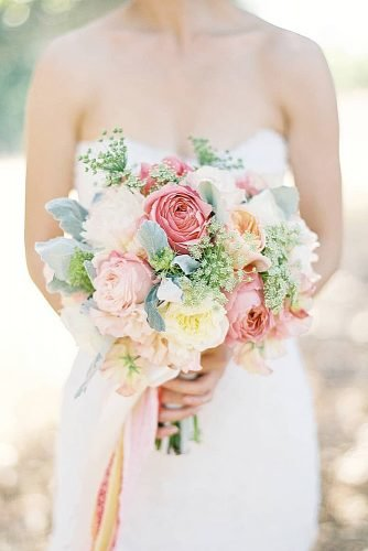 wedding bouquets pastel wedding bouquet
