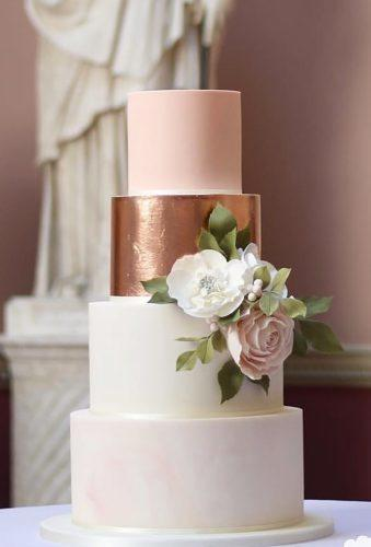 wedding cakes pictures white cake with gold flower poppypickeringcakes