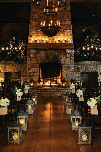 wedding ideas with candles aisle decorated with candle lanterns and candles backdrop beal and thomas