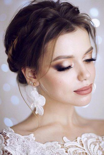 wedding makeup classic soft smokey lenabogucharskaya via instagram
