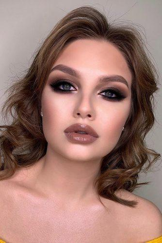 wedding makeup elegant dark smoky eyes elena_sanko_make_up
