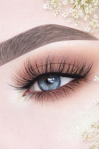 wedding makeup natural gentle brown shades for blue eyes anneloesdebets