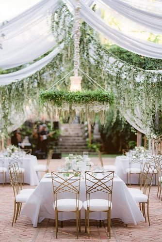 wedding tent elegant all white elegant reception with greenery décor jana_dillon