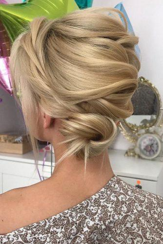 wedding updos for long hair elegant stylish updo on blond hair milabeautykim via instagram