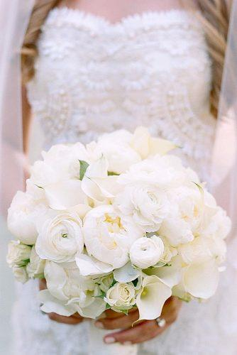 white wedding bouquets inspiration white peonies and roses 50fifty events via instagram
