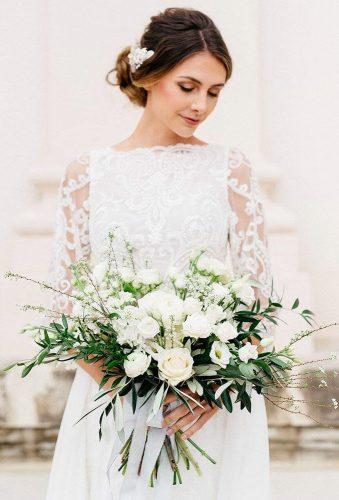 white wedding bouquets rustic white bouquet florietta meisterfloristikn