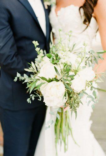 white wedding bouquets wedding bouquet Lindsay Madden Photography