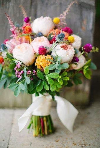 wildflower wedding bouquets colorful bouquet lisa mathewson