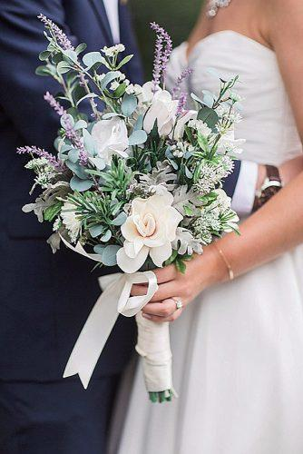 wildflower wedding bouquets with lilac and white flowers jessica roberts photography