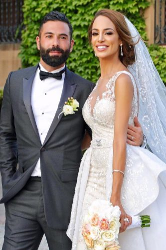 zeynab kanso wedding bride and groom joseba sandoval