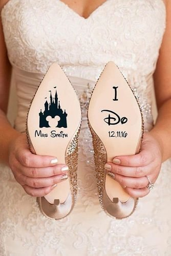 disney wedding decals disney wedding shoes