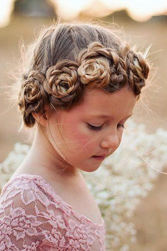 flower girl hairstyles braided flower crown abellasbraids