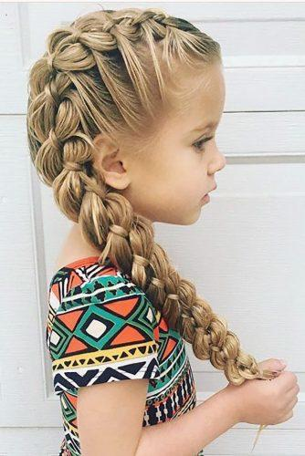 flower girl hairstyles original side braid bieamanda