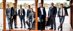 18 Perfect Grey Groomsmen Suits You Must See