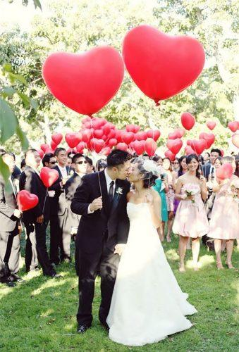 heart wedding photos hert balloon socoevents