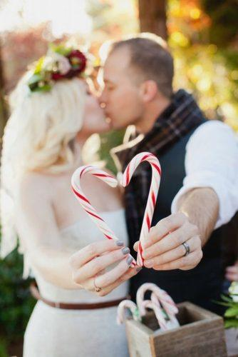 heart wedding photos kiss with heart candy Kim J Martin Photography
