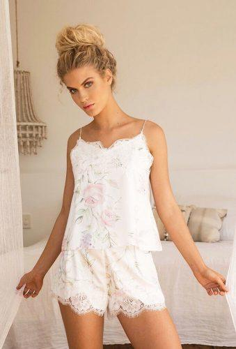 honeymoon lingerie floral nightwear homebodii