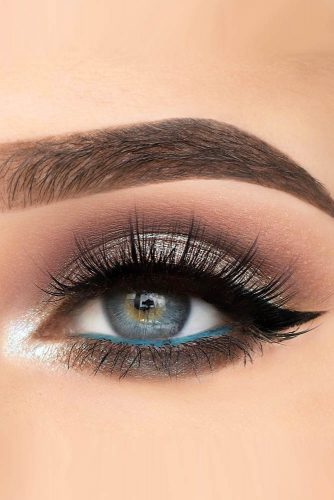 makeup ideas for blue eyes bright eye liner xwiesx