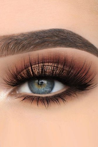 makeup ideas for blue eyes bronze smokey eyes xwiesx