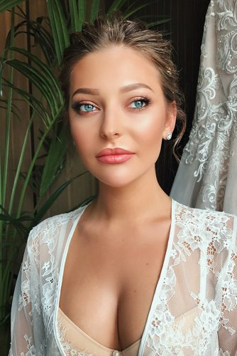 makeup ideas for blue eyes fresh natural makeup in warm tones jane_hahaeva