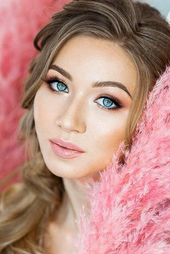 makeup ideas for blue eyes soft natural with pink lips elstilespb