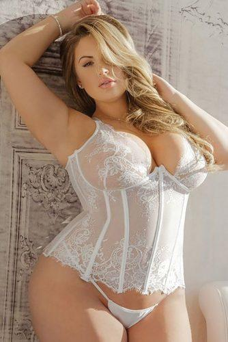 plus size bridal lingerie hot lace set wegotcurves