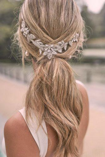 pony tail hairstyles siple elegant low with accessorie thompsonandcampbell