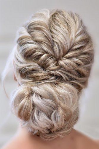 summer wedding hairstyles swept low bun on blonde hair tinoshair_tino